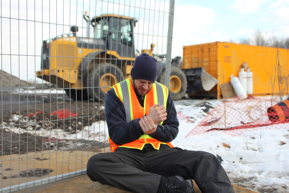 Winter Work Construction Injuries In New York